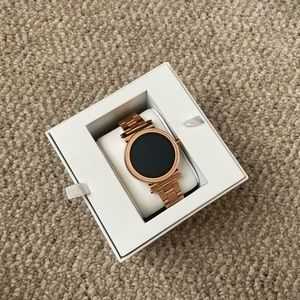 Sofie Heart Rate Rose Gold-Tone Smartwatch
